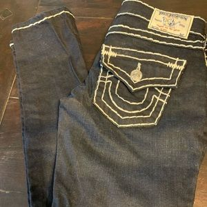 True Religion Denim Jeans Super T's skinny's